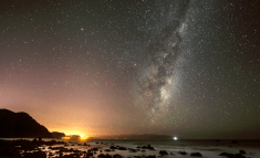 Milky Way Above the Wellington South Coast by Mark Gee