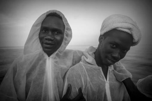 Les refugies se lient entre eux durant leur periple.