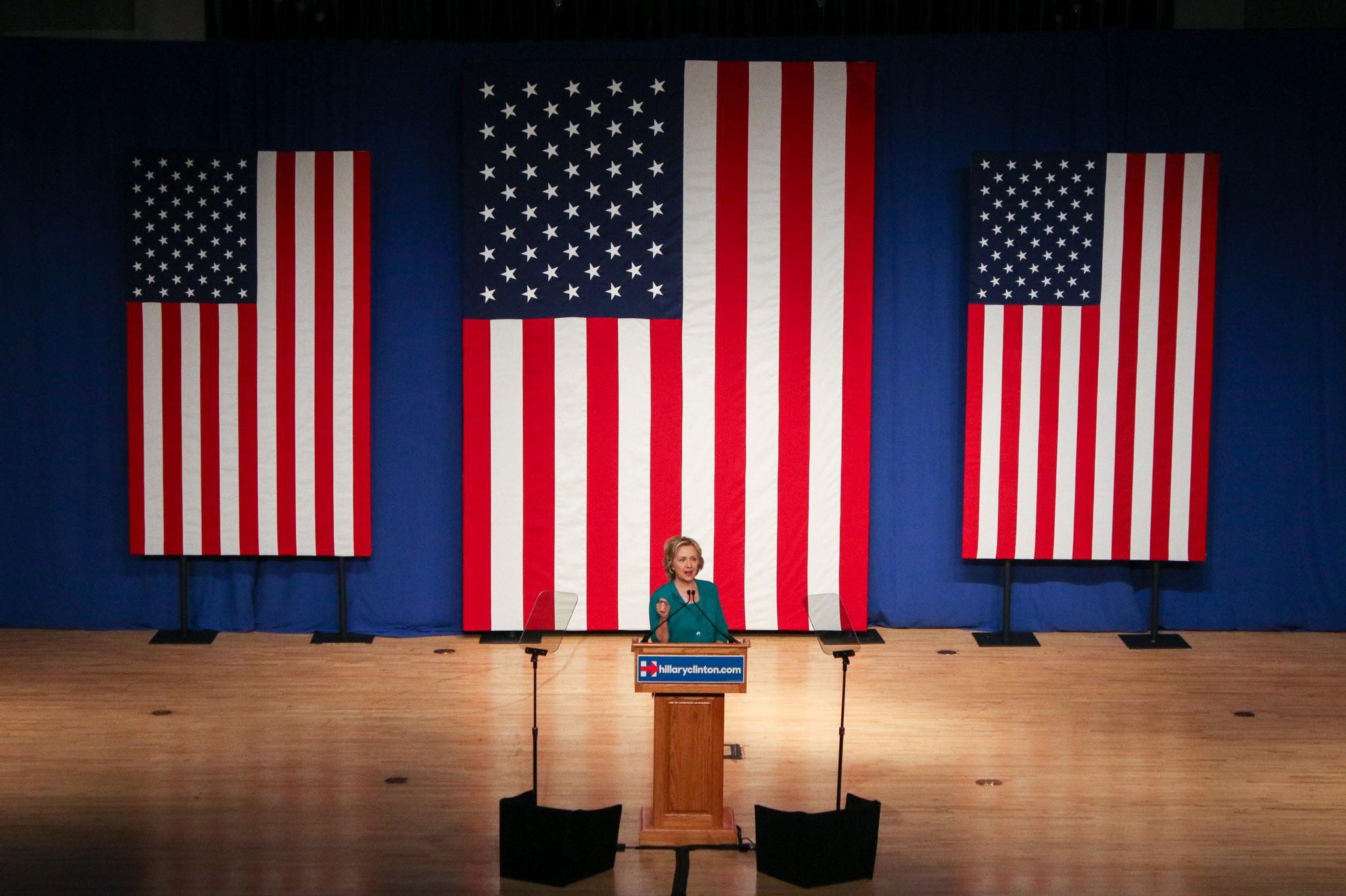 Hillary Clinton à Miami le 31 juillet 2015