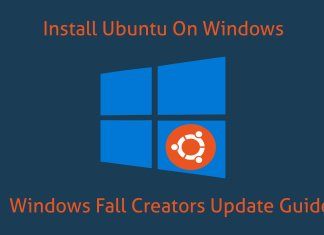 install ubuntu on windows 10