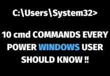 cmd commands