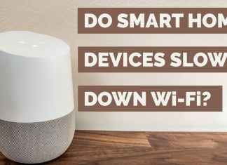 do smart home devices slow down Wifi