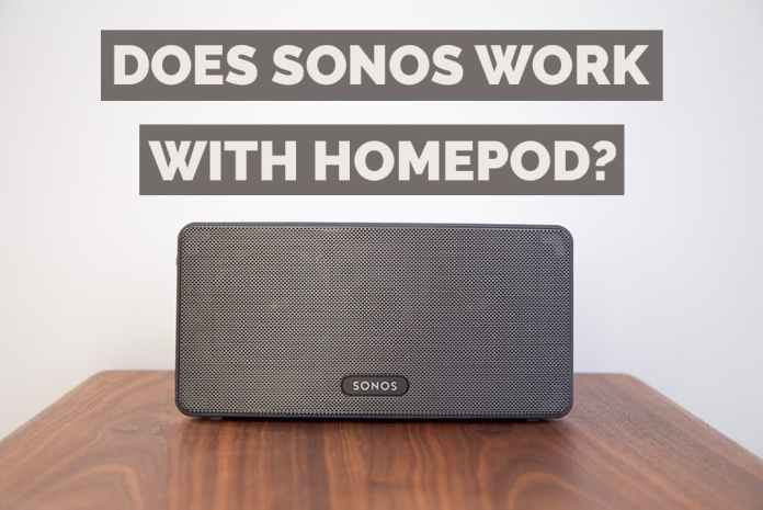 does sonos work with homepod