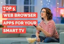 best web browser apps for smart TV