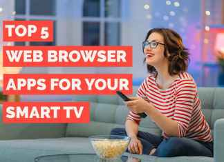 best web browser apps for smart TV