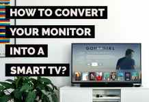 how to convert monitor into smart tv