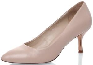 бежевые туфли-лодочки