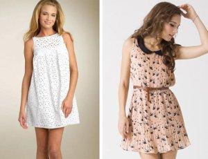 платья с цветочными принтами для создания милых образов