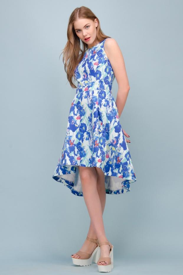 асимметричные платья лето 2016