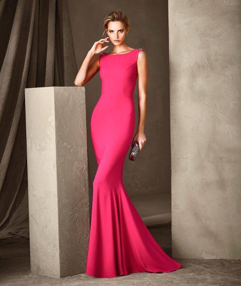 платье 2017 красных оттенков