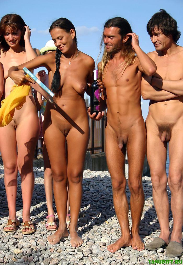 Фото нудистов красивые