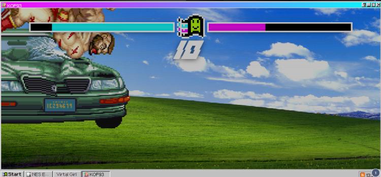 我在网上发现了windows93系统,太有意思了