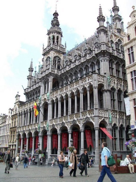 Brussels probably had my favorite architecture on the trip, next to some parts of Paris.