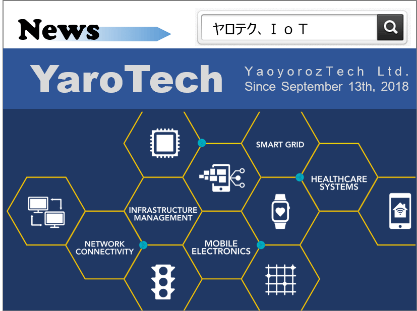 20180913_News_YaoyorozTech Ltd_Establishment