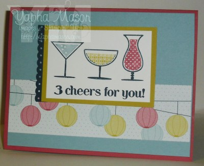 3 Cheers for You by Yapha Mason