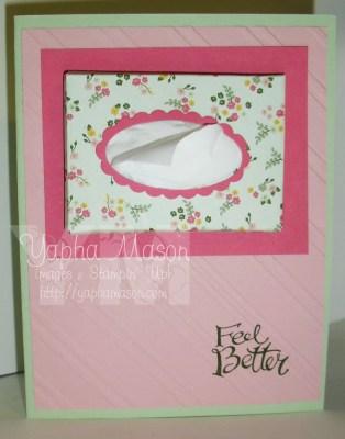 Tissue Box card by Yapha