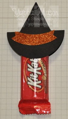 Kit Kat Witches Hat by Yapha
