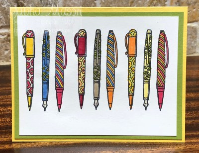 Pens by Yapha
