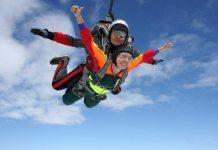 Прыжок с парашютной системой ТАНДЕМ