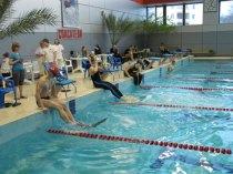 Соревнования по плаванию в ластах