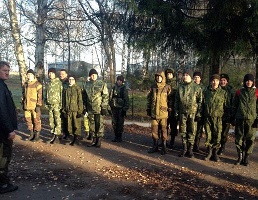 Занятие с кадетами 13 Кадетского колледжа
