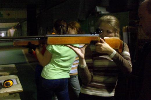Учебно- тренировочная стрельба