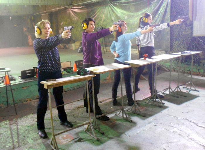 Соревнования по стрельбе в ярославском тире