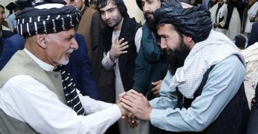 ghani and mullah zaif