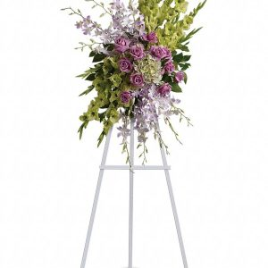 Heavenly Sentiments Spray Flower Stand Yara Flowers