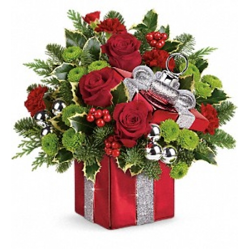 Gift Wrapped Bouquet Yara Flowers