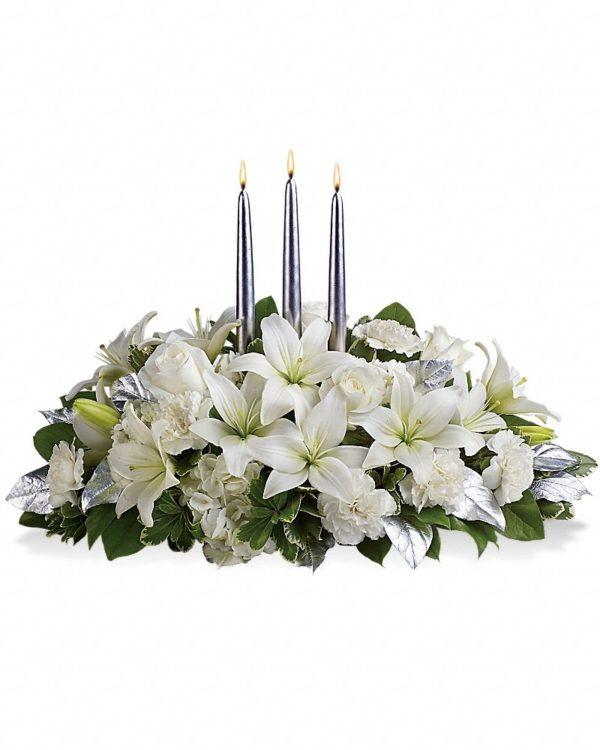 Silver Elegance Bouquet Yara Flowers