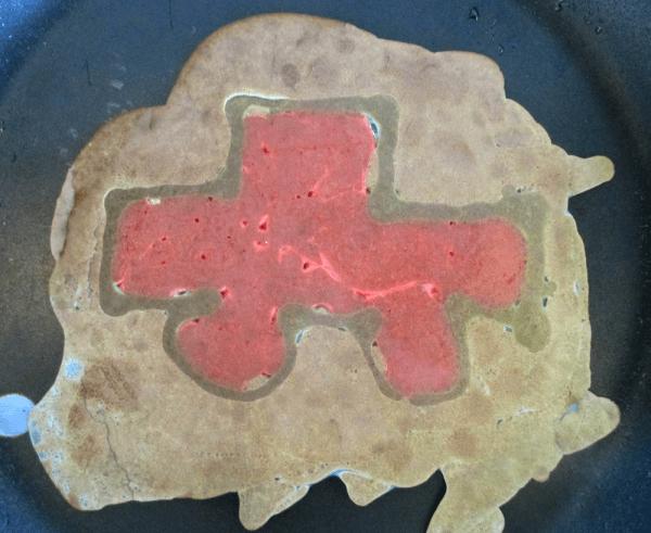 Funcake-pandekage bil