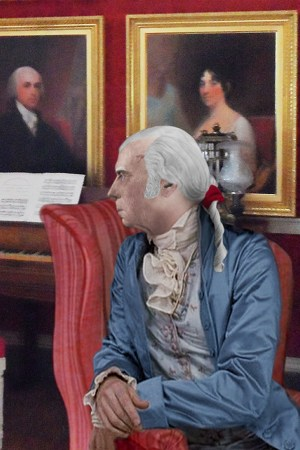 James Madison in his Montpelier Drawing Room