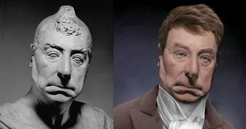 Marquis de Lafeyette Life Mask Reconstruction