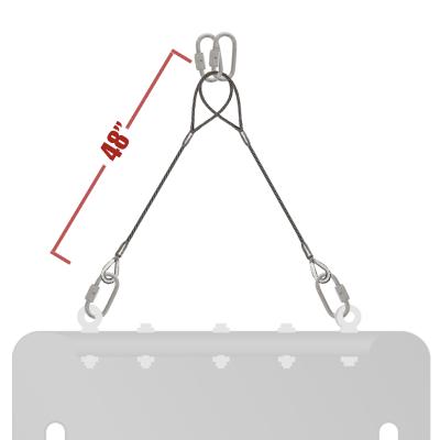 Pull Straps – 1/4″ Galvanized Cable