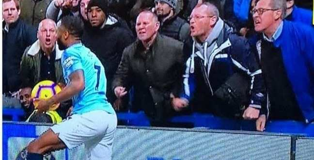 chelsea fans abuses sterling