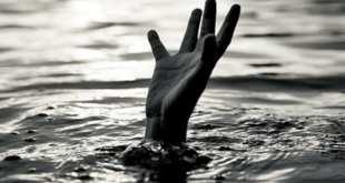 Drown river swim dead water