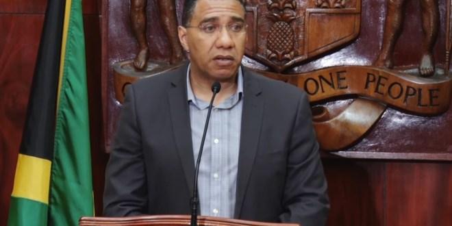 Jamaica PM Mr. Prime Minister
