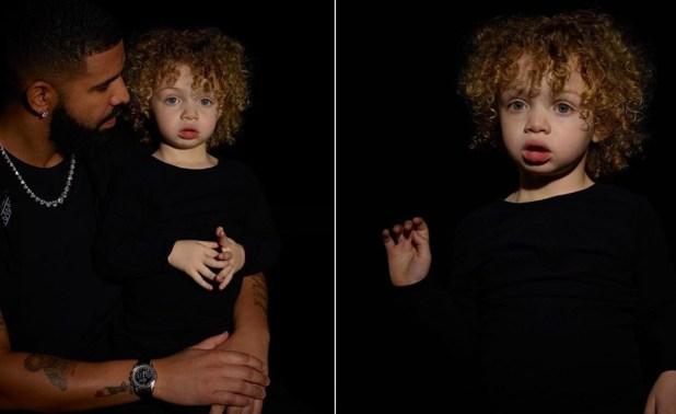 "Drake Finally Shows Us His Son ""Adonis"""