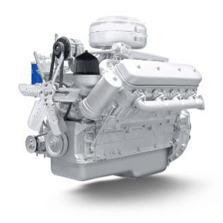 Двигатель ЯМЗ-238М2-21