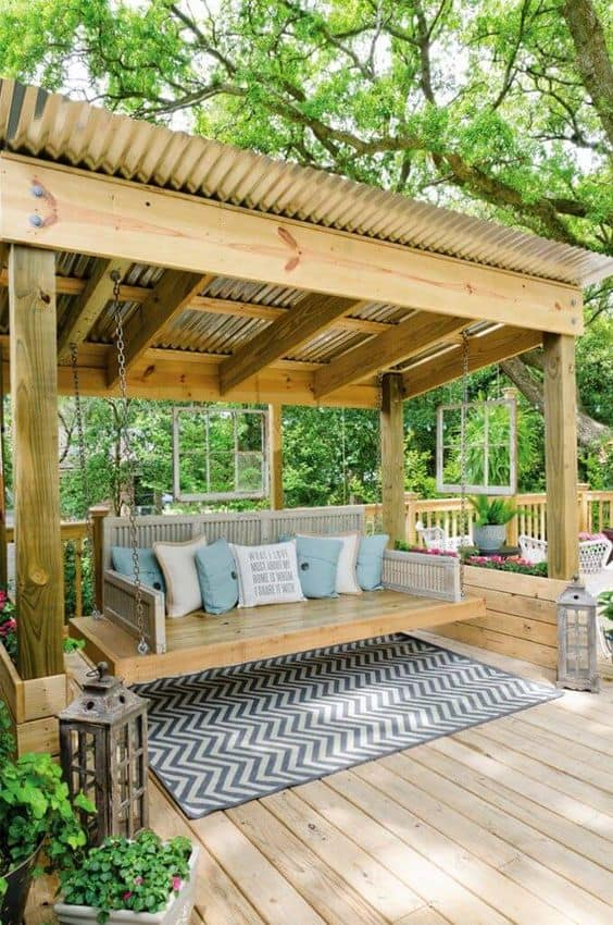 25 Easy And Cheap Backyard Seating Ideas - Page 15 of 25 ... on Back Garden Seating Area Ideas  id=54000