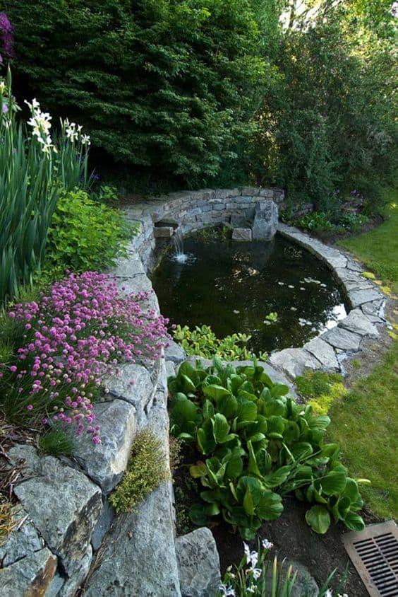 20 Amazing Pond Ideas For Your Backyard - YARD SURFER on Pond Ideas Backyard id=69323