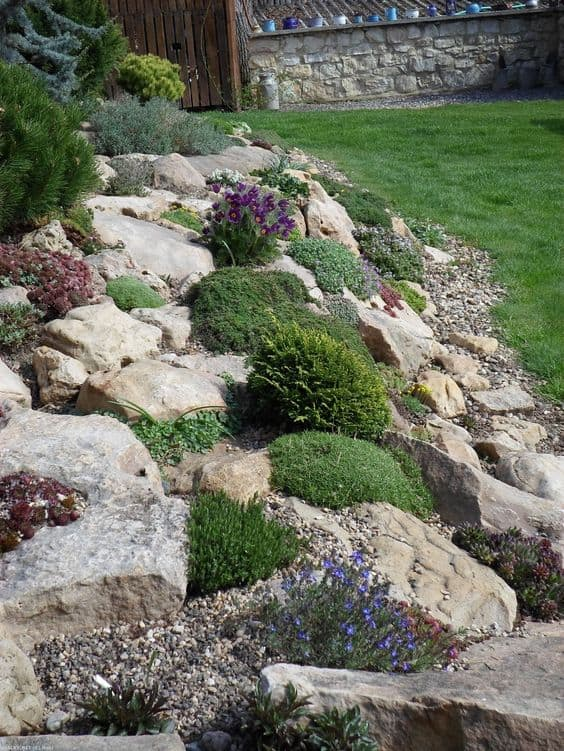 15 Amazing Rock Garden Design Ideas | Yard Surfer on Rock Backyard  id=79828
