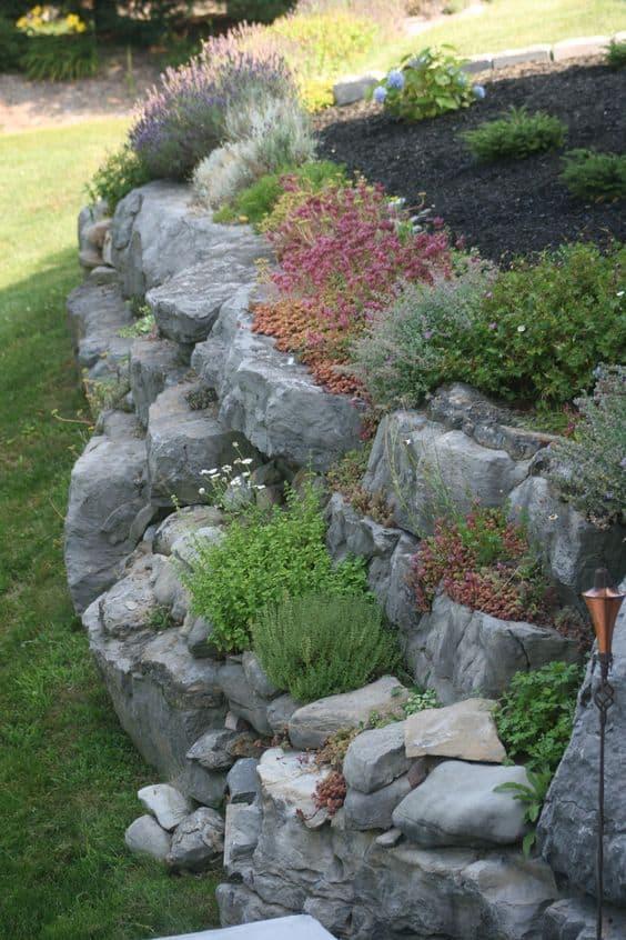 15 Amazing Rock Garden Design Ideas - Page 8 of 15 - YARD ... on Backyard Rock Garden Ideas id=62317