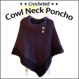 Fall CAL: Cowl Neck Poncho