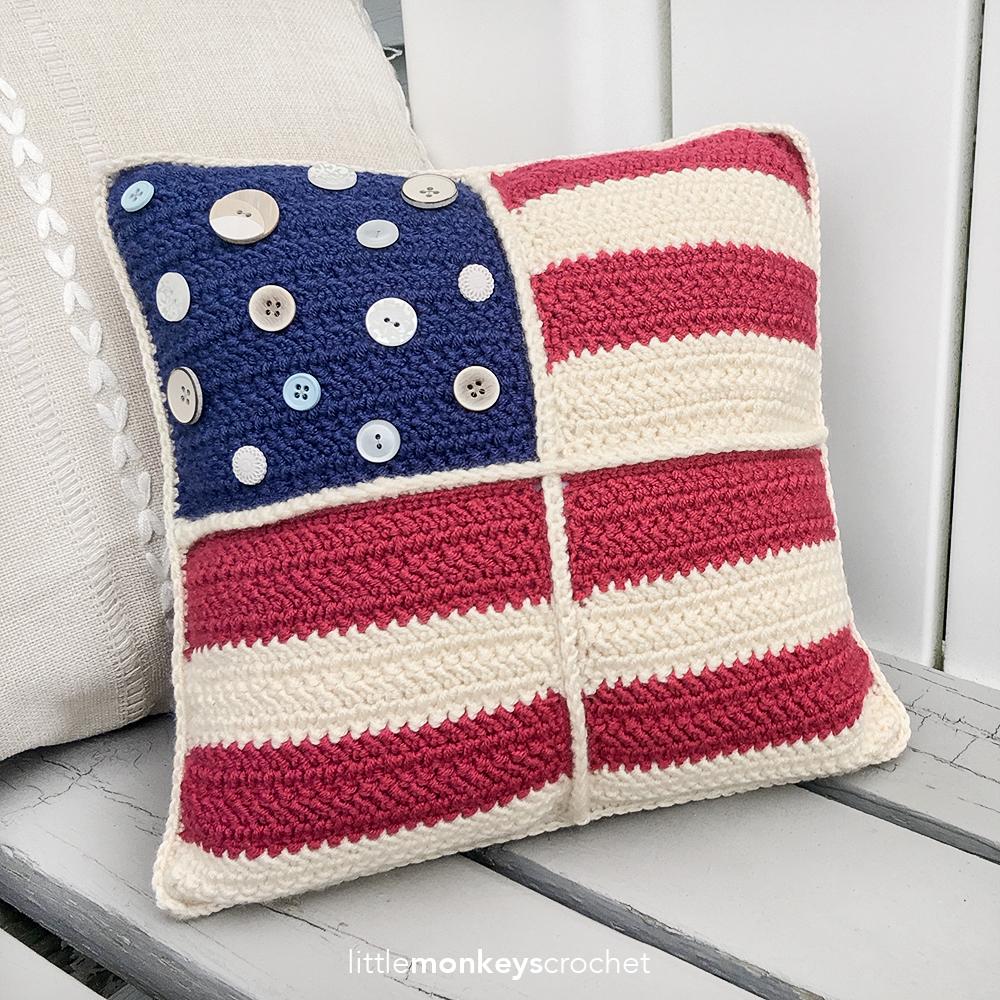 "Americana Pillow (12"")"
