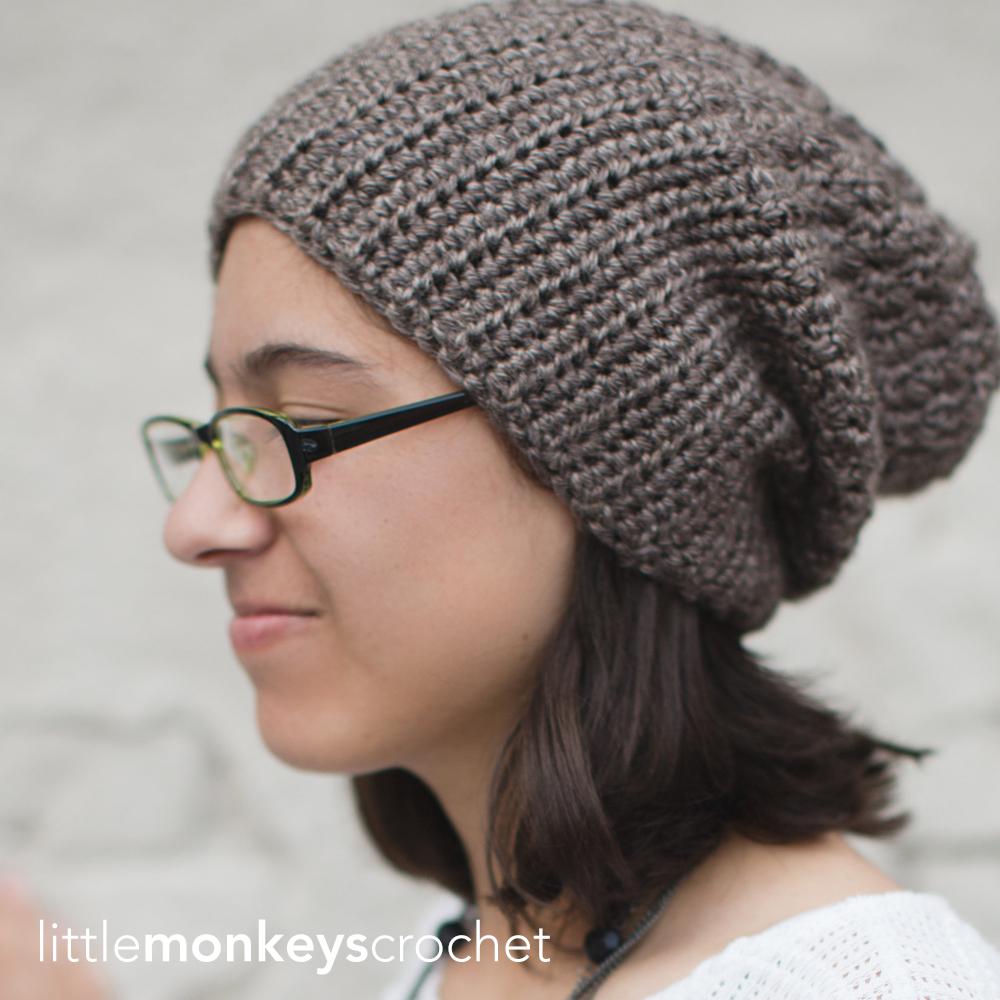 Half-'n-Half Slouch Hat