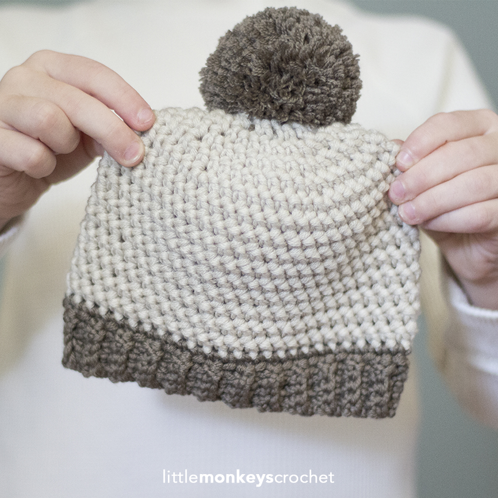 Herringbone Baby Hat
