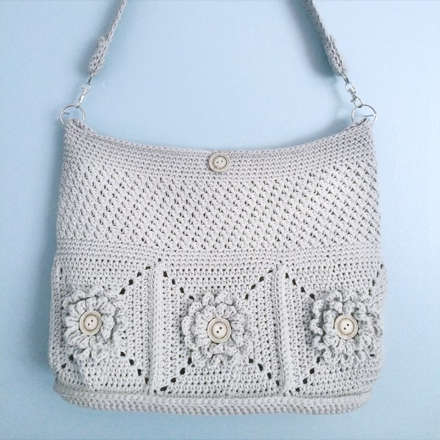 Wildflower Shoulder Bag Crochet Along