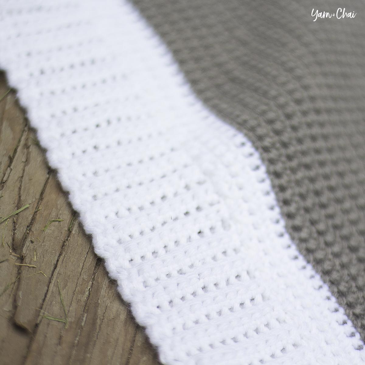Summer Boardwalk Baby Blanket (Ad-Free PDF)